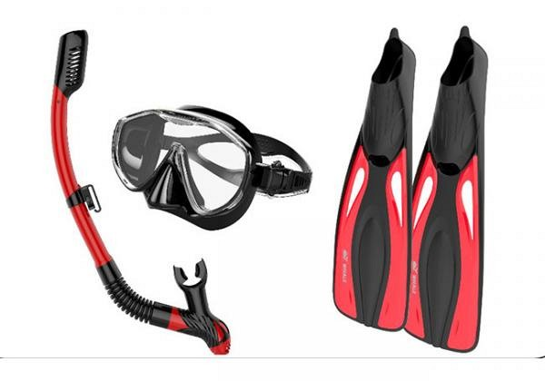 snorkel equipment verhuur